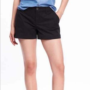 New Old Navy mid rise black shorts